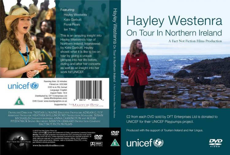 DVD Cover - Hayley Westenra On Tour In Northern Ireland