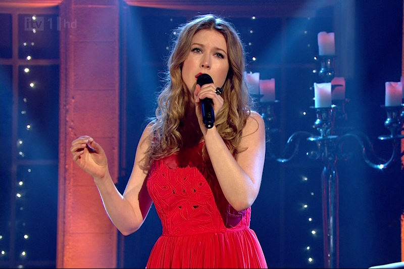 Hayley Westenra on Alan Titchmarsh show - ITV